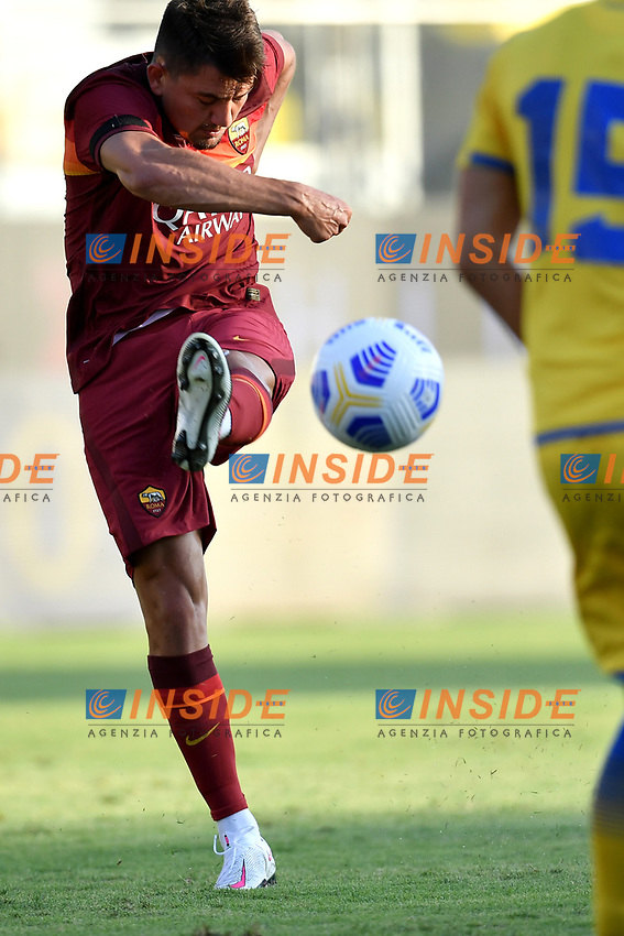 Cengiz Under of AS Roma during the friendly football match between Frosinone calcio and AS Roma at Benito Stirpe stadium in Frosinone (Italy), September 9th, 2020. AS Roma won 4-1 over Frosinone Calcio. Photo Andrea Staccioli / Insidefoto