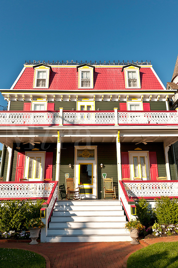 Beautiful victorian B&B in Cape May, New Jersey, NJ, USA