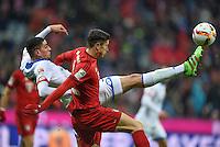 FUSSBALL  1. BUNDESLIGA  SAISON 2015/2016  24. SPIELTAG FC Bayern Muenchen - 1. FSV Mainz 05       02.03.2016 Leon Balogun (li, 1. FSV Mainz 05)  gegen Robert Lewandowski (re, FC Bayern Muenchen)