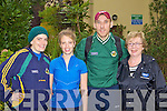 Edel O'Reilly, Mary O'Sullivan, Sean O'Sullivan and Mary O'Connor Cromane keeping fit at the Multiple Sclerosis Old Kenmare road walk on Sunday morning