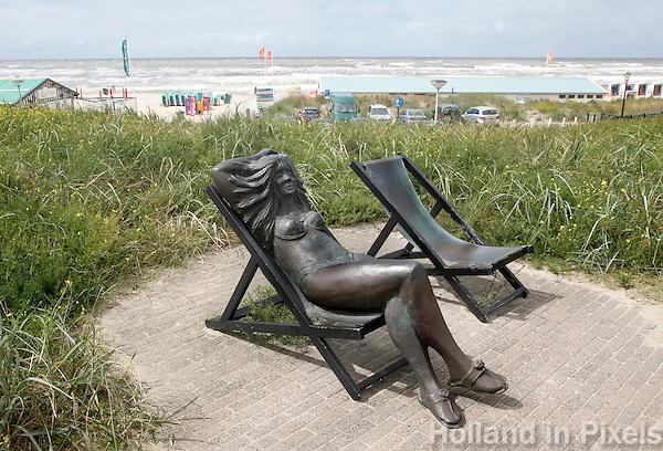 Nederland Katwijk. Kunst in Katwijk