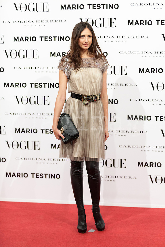 Mayte de la Iglesia at Vogue December Issue Mario Testino Party