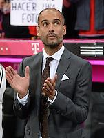 Fussball  1. Bundesliga  Saison 2013/2014   1. SPIELTAG FC Bayern Muenchen - Borussia Moenchengladbach       09.08.2013 Trainer Pep Guardiola (FC Bayern Muenchen)