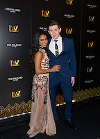 LAS VEGAS, NV - July 12, 2016: ***HOUSE COVERAGE*** Timyra-Joi and LJ Benet pictured as BAZ  -Star Crossed Love Opening Night arrivals at The Palazzo Theater at The Palazzo Las Vegas in Las vegas, NV on July 12, 2016. Credit: Erik Kabik Photography/ MediaPunch