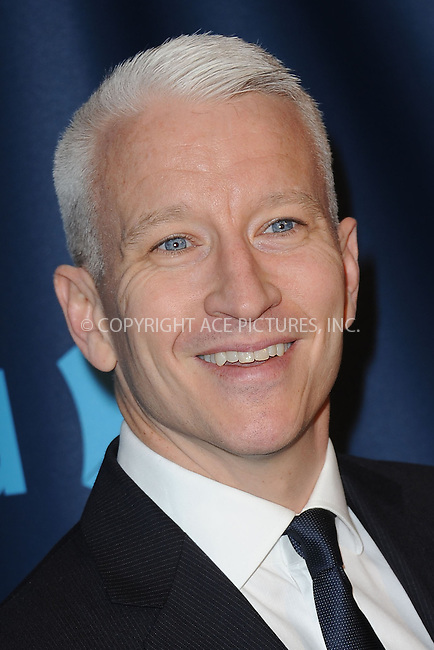 WWW.ACEPIXS.COM . . . . . .March 16, 2013...New York City....Anderson Cooper attends the 24th Annual GLAAD Media Awards on March 16, 2013 in New York City ....Please byline: KRISTIN CALLAHAN - ACEPIXS.COM.. . . . . . ..Ace Pictures, Inc: ..tel: (212) 243 8787 or (646) 769 0430..e-mail: info@acepixs.com..web: http://www.acepixs.com .