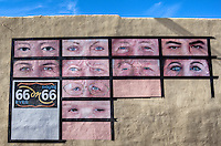"One of the many murals in Tucumcari New Mexico, known as ""The Gateway City of Murals"" on Route 66."