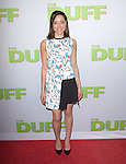 Aubrey Plaza attends The CBS Films Los Angeles fan screening of THE DUFF held at The TCL Chinese 6 Theater  in Hollywood, California on February 12,2015                                                                               © 2015 Hollywood Press Agency