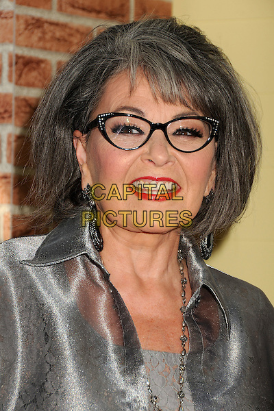 Roseanne Barr.Comedy Central Roast of Roseanne Barr held at the Hollywood Palladium, - Hollywood, California, USA, .4th August 2012..portrait headshot glasses silver red lipstick smiling.CAP/ADM/BP.©Byron Purvis/AdMedia/Capital Pictures.