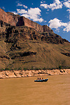 Scenic, Grand Canyon, Day Rafting trip on the Colorado River, Arizona, AZ, cliffs, landscape, vertical, arid, erosion, nature, muddy water, no model release, Image nv459-18551.Photo copyright: Lee Foster, www.fostertravel.com, lee@fostertravel.com, 510-549-2202