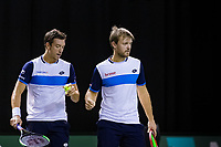 Rotterdam, The Netherlands, 9 Februari 2020, ABNAMRO World Tennis Tournament, Ahoy, Doubles: Kevin Krawietz (GER) and Andreas Mies (GER).<br /> Photo: www.tennisimages.com