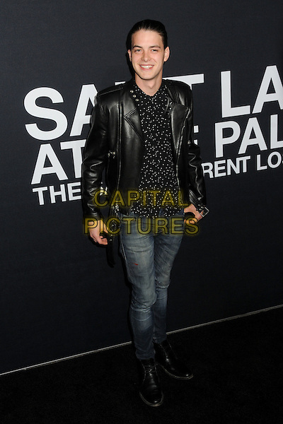 10 February 2016 - Los Angeles, California - Israel Broussard. Saint Laurent At The Palladium held at the Hollywood Palladium. <br /> CAP/ADM/BP<br /> &copy;BP/ADM/Capital Pictures