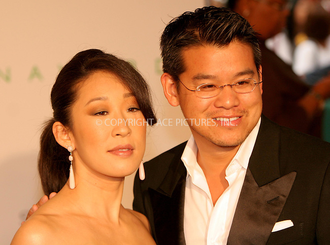 WWW.ACEPIXS.COM . . . . .  ....NEW YORK, JUNE 5, 2006....Sandra Oh and Peter Som at the 2006 CFDA Awards.....Please byline: NANCY RIVERA- ACEPIXS.COM.... *** ***..Ace Pictures, Inc:  ..Craig Ashby (212) 243-8787..e-mail: picturedesk@acepixs.com..web: http://www.acepixs.com
