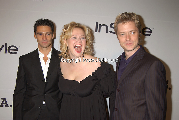 ..David Lister, Caroline Rhea and Chris Botti..at the 6th Annual New York City Gala to benefit Project ALS on October 20, 2003 at the Hammerstein Ballroom ...Photo by Robin Platzer, Twin Images