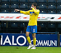 ST JOHNSTONE'S CILLIAN SHERIDAN CELEBRATEAS AFTERHE SCORES ST JOHNSTONE'S SECOND