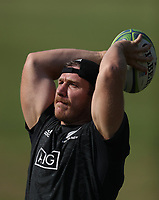 PRETORIA, SOUTH AFRICA - OCTOBER 05: Nathan Harris during the Rugby Championship New Zealand All Blacks captain's run at St David's Marist Inanda in Sandown, South Africa on Friday, October 5, 2018. Photo: Steve Haag / stevehaagsports.com