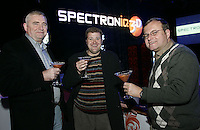 LAS VEGAS - JANUARY 07:  Guests at the Spectroniq 3-D CES Party at The Joint at the Hard Rock Hotel & Casino on January 7, 2007 in Las Vegas,Nevada.  (Photo by Chris Farina