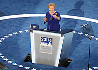 PHILADELPHIA, PA - JULY 26: Madeleine Albright  pictured at The 2016 Democratic National Convention day 2 at The Wells Fargo Center in Philadelphia, Pennsylvania on July 26, 2016. Credit: Star Shooter/MediaPunch
