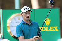 Justin Rose (ENG) on the 4th tee during Saturday's Round 3 of the 2018 Turkish Airlines Open hosted by Regnum Carya Golf &amp; Spa Resort, Antalya, Turkey. 3rd November 2018.<br /> Picture: Eoin Clarke | Golffile<br /> <br /> <br /> All photos usage must carry mandatory copyright credit (&copy; Golffile | Eoin Clarke)