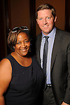 Crystal Ashby and Bill Olson at the UK Energy Excellence reception at the Hilton Post Oak Hotel Monday April 30,2012. (Dave Rossman Photo)