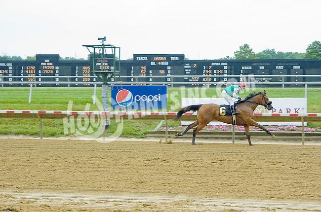 Alantis Moon winning at Delaware Park on 6/17/12