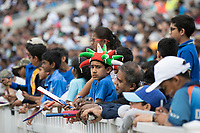 Autograph hunting at the boundary edge during India vs New Zealand, ICC World Cup Warm-Up Match Cricket at the Kia Oval on 25th May 2019