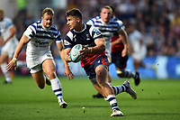 Luke Daniels of Bristol Bears in possession. Gallagher Premiership match, between Bristol Bears and Bath Rugby on August 31, 2018 at Ashton Gate Stadium in Bristol, England. Photo by: Patrick Khachfe / Onside Images