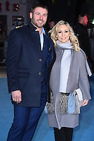 "Ben Cohen and Kristina Rihanoff<br /> at the ""Eddie the Eagle"" European premiere, Odeon Leicester Square London<br /> <br /> <br /> ©Ash Knotek  D3099 17/03/2016"