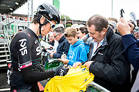 Picture by Alex Whitehead/SWpix.com - 10/09/2017 - Cycling - OVO Energy Tour of Britain - Stage 8, Worcester to Cardiff - Geraint Thomas of Team Sky.