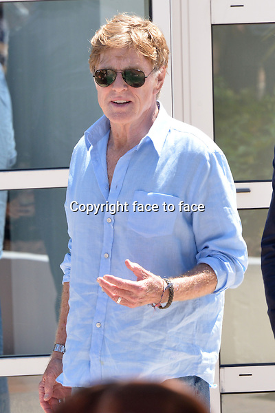 "Robert Redford (Actor) attending the ""ALL IS LOST"" Photocall during the 66th annual International Cannes Film Festival in Cannes, France, 22th May 2013. Credit: Timm/face to face"