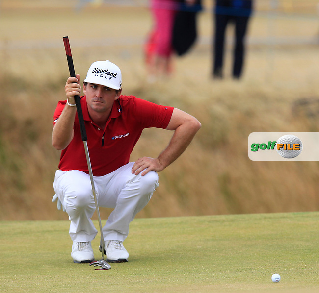 Keegan BRADLEY (USA) during round 4 of  The 142th Open Championship Muirfield, Gullane, East Lothian, Scotland 21/7/2013<br /> Picture Eoin Clarke www.golffile.ie: