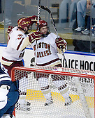 Ben Smith (BC - 12), Joe Whitney (BC - 15) - The Boston College Eagles defeated the Yale University Bulldogs 9-7 in the Northeast Regional final on Sunday, March 28, 2010, at the DCU Center in Worcester, Massachusetts.