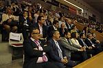 Catalunya vs Montenegro: 83-57.<br /> Gerard Figueres, Marta Madrenas, Roger Torrent &amp; Joan Fa.