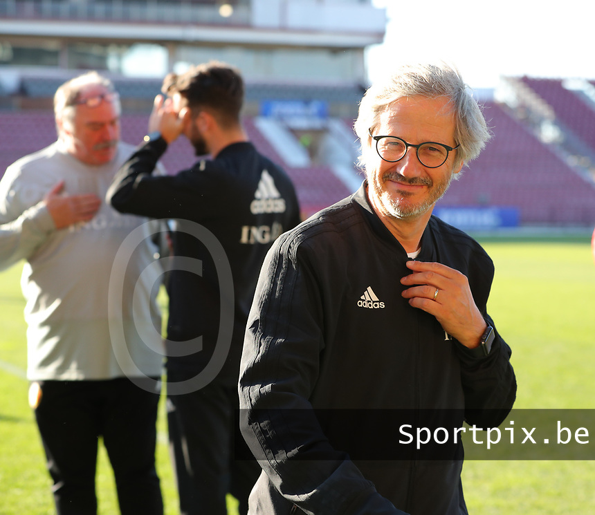20191008 CLUJ NAPOCA: Belgium's team doctor is pictured before the match between Belgium Women's National Team and Romania Women's National Team as part of EURO 2021 Qualifiers on 8th of October 2019 at CFR Stadium, Cluj Napoca, Romania. PHOTO SPORTPIX | SEVIL OKTEM
