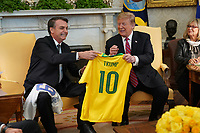 MAR 19 Trump meets with President of Brazil