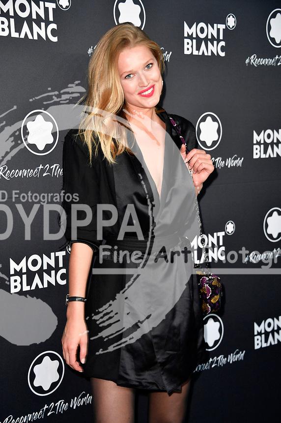 Toni Garrn beim Montblanc Travel & the Arts Events vor dem Gallery Weekend im Metropoltheater. Berlin, 24.04.2019