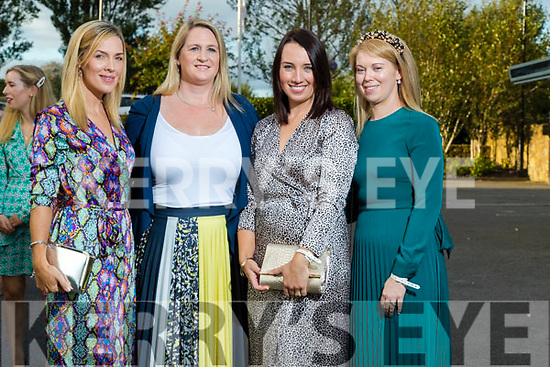 Deirdre Hennebery (Tonevane) , Stephanie Turner (Tralee), Emily Lynch (Tonevane) and Trish Cronin (Tralee) at the Rose of Tralee fashion show at the dome on Sunday night.