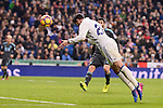 Real Madrid's Alvaro Morata during La Liga match between Real Madrid and Real Sociedad at Santiago Bernabeu Stadium in Madrid, Spain. January 29, 2017. (ALTERPHOTOS/BorjaB.Hojas)