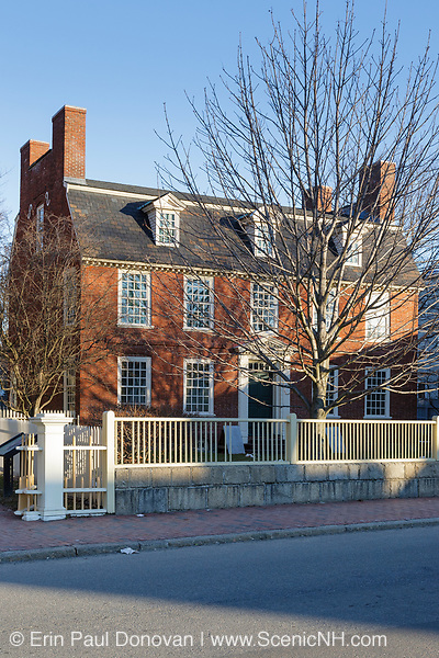The Derby House which is the oldest brick house in Salem MA and is located at Salem Maritime National Historic Site, which was the first National Historic Site in the National Park System. Located in Salem, Massachusetts USA