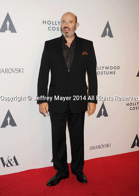 LOS ANGELES, CA- OCTOBER 01: Costume designer Mark Weiss attends The Academy of Motion Picture Arts and Sciences' Hollywood Costume Opening Party at the Wilshire May Company Building on October 1, 2014 in Los Angeles, California.