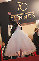 Elisabeth Moss at the The Square premiere for at the 70th Festival de Cannes.<br /> May 20, 2017  Cannes, France<br /> Picture: Kristina Afanasyeva / Featureflash