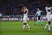 2nd November 2017, Nice, France; EUFA Europa League, Olympique Lyonnais versus Everton;  Nabil Fekir (lyon) rues a missed chance