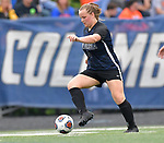 Columbia's Jenna Jackson carries the ball downfield in the Class 1A girls soccer supersectional game played at Columbia High School in Columbia, IL on Tuesday May 21, 2019.<br /> Tim Vizer/Special to STLhighschoolsports.com