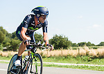 SITTARD, NETHERLANDS - AUGUST 16: Jose Joaquin Rojas Gil of Spain riding for Movistar competes during stage 5 of the Eneco Tour 2013, a 13km individual time trial from Sittard to Geleen, on August 16, 2013 in Sittard, Netherlands. (Photo by Dirk Markgraf/www.265-images.com)