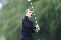 Robert Moran (Castle) during the first round at the Mullingar Scratch Trophy, the last event in the Bridgestone order of merit Mullingar Golf Club, Mullingar, West Meath, Ireland. 10/08/2019.<br /> Picture Fran Caffrey / Golffile.ie<br /> <br /> All photo usage must carry mandatory copyright credit (© Golffile | Fran Caffrey)