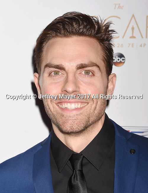 LOS ANGELES, CA - FEBRUARY 23: Actor Colt Prattes attends Cadillac's 89th annual Academy Awards celebration at Chateau Marmont on February 23, 2017 in Los Angeles, California.