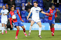 Connor Jennings of Tranmere Rovers and Corey Whitely of Dagenham during Tranmere Rovers vs Dagenham & Redbridge, Vanarama National League Football at Prenton Park on 11th November 2017