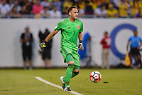 Chicago, IL - Wednesday June 22, 2016: David Ospina during a Copa America Centenario semifinal match between Colombia (COL) and Chile (CHI) at Soldier Field.