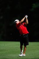 2 JUN 2007:  (Name Surname) of (School) (describe action) during the Division I Men's Golf Championship held at the Golden Horseshoe Golf Club, Gold Course in Williamsburg, VA.  (Surname)  (describe overall placement).  <br />