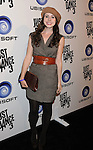 """LOS ANGELES, CA - OCTOBER 04: Genevieve Farrell arrives at the launch of """"Just Dance 3"""" at The Beverly on October 4, 2011 in Los Angeles, California."""