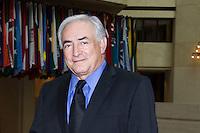 WAS071. WASHINGTON (DC, EE.UU.), 19/04/2011.- El director gerente del Fondo Monetario Internacional, Dominique Strauss-Kahn (d), se reúne con el presidente electo de Haití, Michel Martelly (i), hoy, martes 18 de abril de 2011, en las oficinas principales del organismo en Washington (DC, EE.UU.) EFE/Michael Spilotro/Cortesía Fondo Monetario Internacional/SOLO USO EDITORIAL..